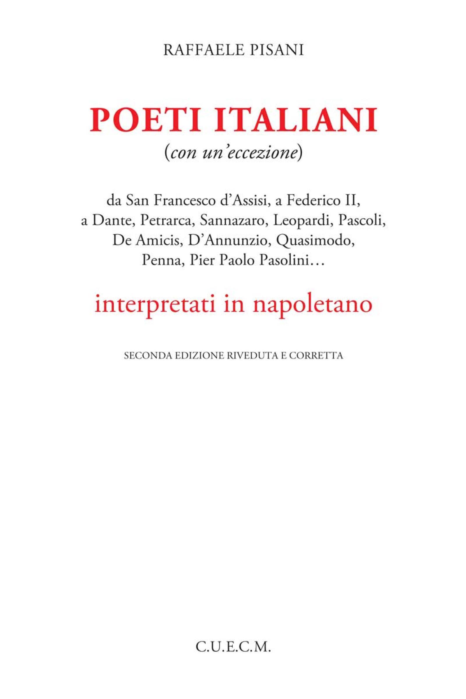 Poeti italiani in napoletano